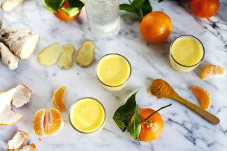 Smoothie clementine ananas curcuma Emiliemurmure
