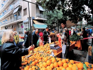 greece oranges market